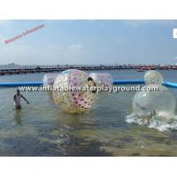 Colorful Dot Durable Inflatable Water Zorb Ball For Floating Fun Manufactures