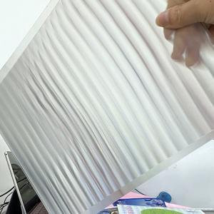 UV offset printing lenticular material 100LPI pet lenticular lens sheet 3D Lenticular PET/APET Material Sheet Manufactures