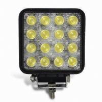 "Quality IP67 15W 4"" 24V High Lumen Cree led vehicle work light For Truck for sale"