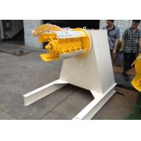 Coil Car Loading Uncoiler Machine With Frequency Changer Control System Manufactures