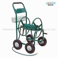 Liberty Garden Residential 4-Wheel Steel Garden Hose Reel Cart, Holds 350-Feet of 5/8-Inch Hose Green Manufactures