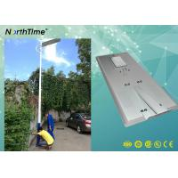 80Watt Smart Phone APP Control LED Smart Solar Street Light With PIR For Bus Station Manufactures
