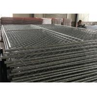 "Chain Link Fence Panels 6' x 14' cross brace mesh 57mm x 57mm x 2.8mm wire tube 1½""(38mm) x 16 gague Manufactures"