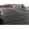 Buy cheap Chain Link Fence Panels 6' x 14' cross brace mesh 57mm x 57mm x 2.8mm wire tube 1½