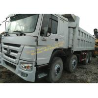 Used Dump Truck HOWO 375 dump truck White color 12 wheels Africa construction work Manufactures