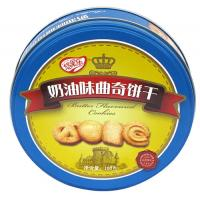 200 x 60mm Milk Flavor Cookie Tin Container , Looks Awesome Manufactures