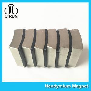 N52 Sintered Neodymium Iron Boron Magnet Arc Shaped Custom Size And Shape Manufactures