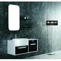 Buy cheap small size PVC/MDF hanging/floating/wall-mounted bathroom vanity/bathroom cabinet from wholesalers