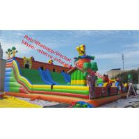 Giant inflatable amusement park inflatable bouncer  with slide  bouncy castles inflatables  inflatable jumping castle Manufactures