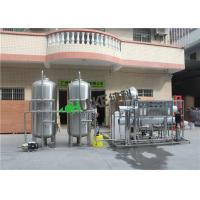 China SUS304 3 Ton Ro Water Treatment Plant , Reverse Osmosis Systems Water Purification Equipment on sale