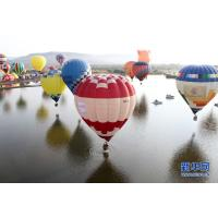Colorful Polymorphic Inflatable Hot Air Balloon For To Go Sightseeing / Wedding Trip / Advertising Manufactures