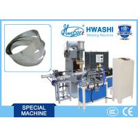 Full Automatic Glass Lid Belt / Strip Butt Welding Machine , SS Cookware Making Machine Manufactures
