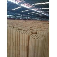 High Temperature Resistance Silica Refractory Bricks Varius Shapes Light Yellow Color Manufactures