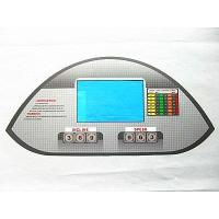 Emboss Tactile Membrane Switch Panel , Spacer For Digital Readout Controller Manufactures