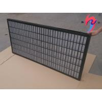 1165x585x40mm Mongoose Shaker Screens , Mine Sieving Mesh Composite Frame Manufactures