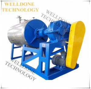 50 / 60Hz Rotary Drum Dryer , Continuous Vacuum Dryer For Okara / Bean Dregs Manufactures