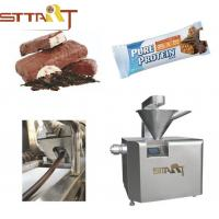 Siemens PLC Control Protein Bar Making Machine High Performance With 65L Hopper Manufactures