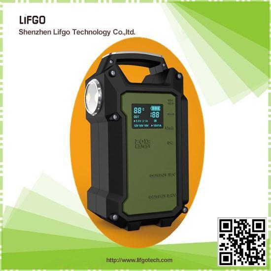 Quality 12V&24V 36000mAh multifunctional car emergency jump starter power for sale