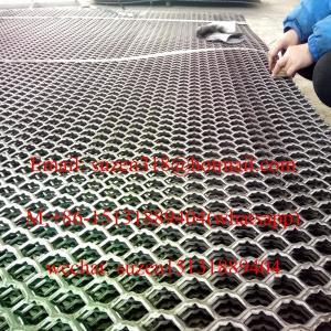 diamond expanded metal panel for dock leveler loading ramp bridge Manufactures