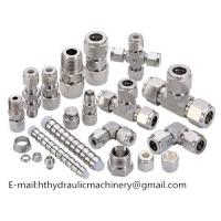 China factory direct sale CNC machinery part carbon steel hydraulic fittings Manufactures