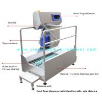 Passage Boot Sole Washer , Sole Cleaning Machine For Entrance Unit In Food Workshop Manufactures
