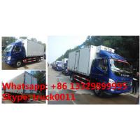 FOTON Aoling 3tons 4*2 LHD refrigerator truck for sale, best price and high quality FOTON Aoling cold room truck Manufactures