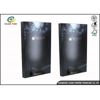 Black Foldable Paper Electronic Product Packaging Boxes Customized Manufactures