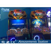 42 Inch Screen Electronic Arcade Racing Game Machine For Entertainment Center Manufactures