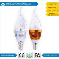E14 Indoor Led Candle Light Bulbs 4W 120° Ra80 For living room Manufactures