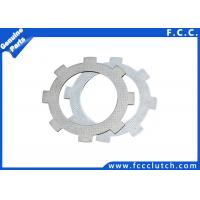 High Performance Steel Clutch Plates / Jialing JH70 Motorcycle Clutch Disc Manufactures