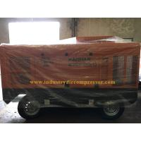 1 Years Warranty Portable Screw Air Compressor Mobile Air Compressor For Mining Manufactures