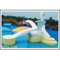 Commercial Fiberglass Water Pool Slides with Interesting Cartoon Shaped Manufactures