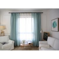 Home / Hotel Modern Window Curtains Multiple Colors Lightweight For Bedroom Manufactures