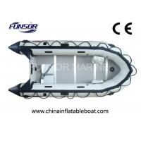 Hand Made Small Inflatable Fishing Boats 5 Person With Plywood Floor Manufactures