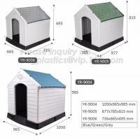China waterproof pet house large insulated plastic dog house, plastic dog kennel, Dog Product Plastic Durable Pet Dog House on sale