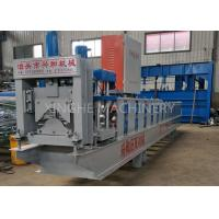 Quality GI Colored Steel Cold Roll Forming Machine With Electric Tile Cutting Machine for sale