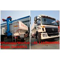 factory sale good price customized FOTON 190hp 8tons-12tons farm-oriented and livestock poultry feed delivery truck Manufactures
