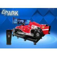 5KW Virtual Reality Simulation Ride , VR Car Driving Racing Game Manufactures