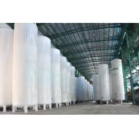 Vacuum Powder Insulated Storage Tank , LC2H4 / LH2 / LOX Storage Tank Manufactures