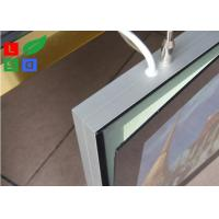 Quality Aluminum Framed Double Sided LED Light Box Magnetism For Shopping Mall Ceiling for sale