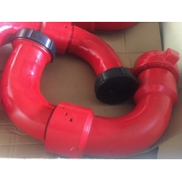 """1 """" 2"""" 3 """" FMC Chiksan Long Radius Swivel Joint With Fig1502 Union Connection For Oil Drilling Manufactures"""