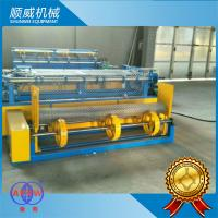 Chain Link Wire Machine Weaving Diameter 1.4mm - 5.0mm , Chain Link Fence Equipment Manufactures
