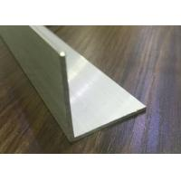 Quality 6000 Series Powder Coated Aluminum L Angle Profile For Solar Mounting System Wall for sale