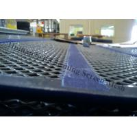 Heavy Duty Wire Mesh Screen , Self Cleaning Sreen Mesh For Quarry Equipment Manufactures