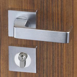 Easy Installation Mortise Door Lock Zinc Alloy Handle For 38 - 55mm Door Manufactures