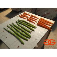 Quality cutting machine cucumber wedge cutter/carrot cutting machine for sale