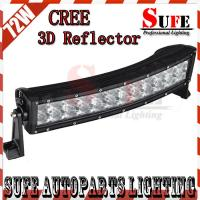 New 3D Reflector 13.5'' 72W CREE Led Light Bar 4x4 Truck Curved Led Driving Light bar SUV Manufactures