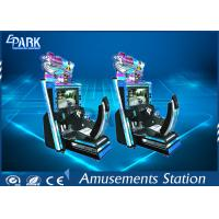 Quality 3D LCD Screen Racing Game Machine Initial D5 With New Racing Tracks for sale
