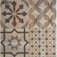 China Electric Heating Ceramic Floor Tiles 24'' x 24'' Flower Pattern Glazed Rustic on sale