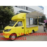 Quality Factory direct sale mobile ice cream truck for sale with metal painting and for sale